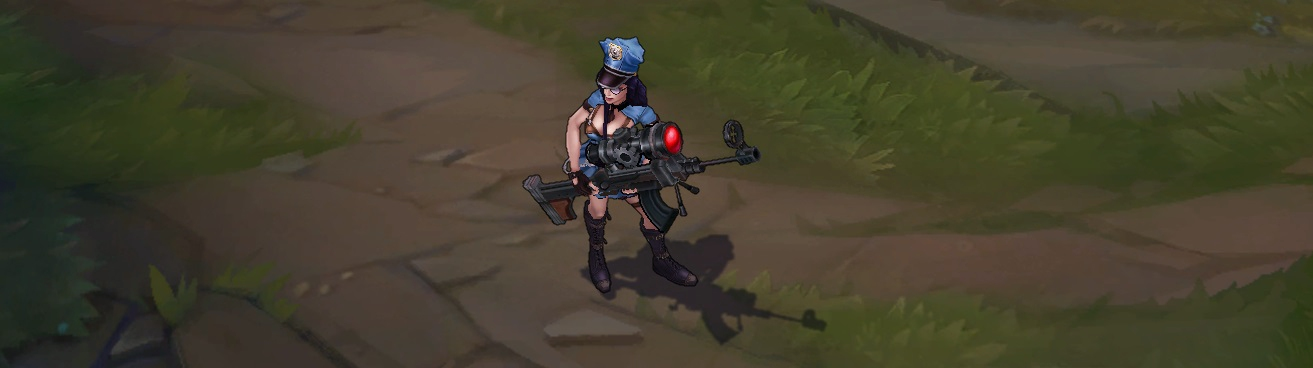 Officer Caitlyn - Buy League of Legends Skin | SmurfMania.com